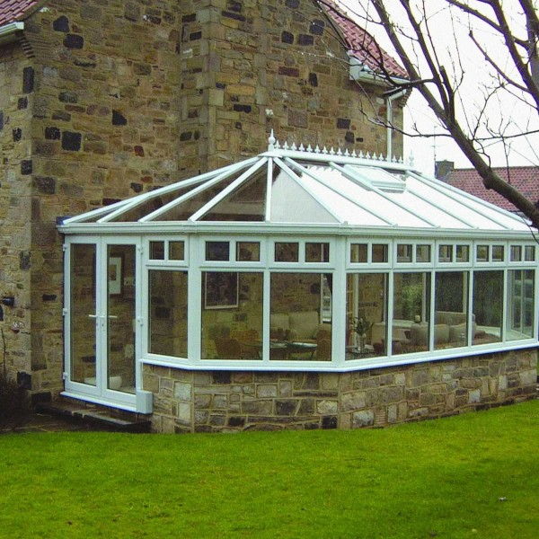 Victorian Conservatory in Penzance, Cornwall